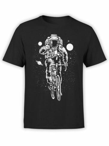 1710 Cyclistnaut T Shirt NASA T Shirt Front