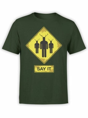 1724 Say It T Shirt Monty Python T Shirt Front