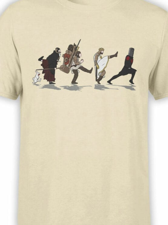 1725 Silly Walks T Shirt Monty Python T Shirt Front Color
