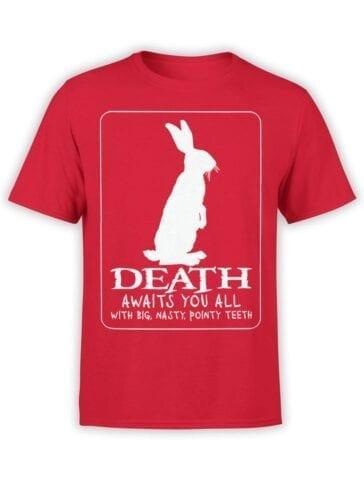 1726 Death T Shirt Monty Python T Shirt Front