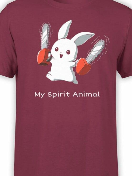1728 Spirit Animal T Shirt Monty Python T Shirt Front Color