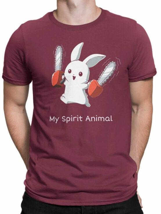 1728 Spirit Animal T Shirt Monty Python T Shirt Front Man
