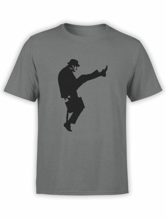 1730 Ministry Of Silly Walks T Shirt Monty Python T Shirt Front