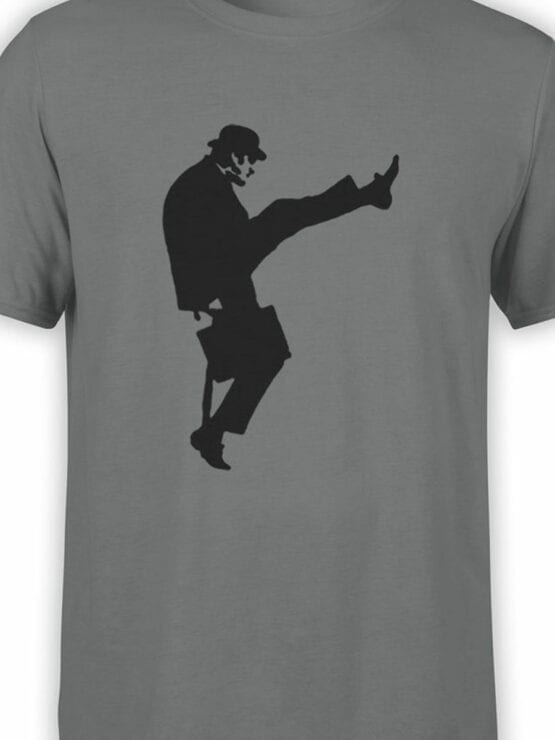 1730 Ministry Of Silly Walks T Shirt Monty Python T Shirt Front Color
