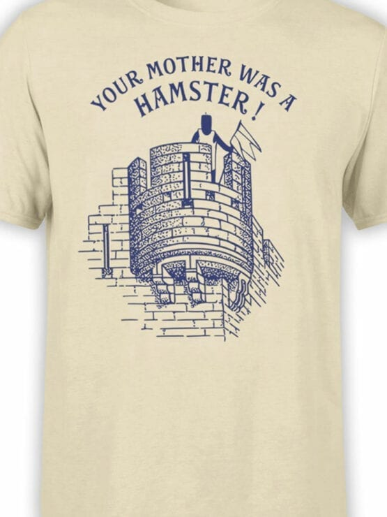 1731 Your Mother was a Hamster T Shirt Monty Python T Shirt Front Color