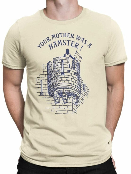 1731 Your Mother was a Hamster T Shirt Monty Python T Shirt Front Man