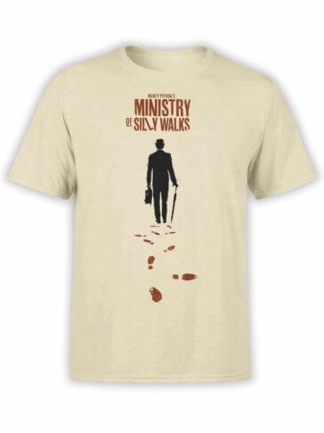 1732 Ministry Of Silly Walks Monty Python T Shirt Front