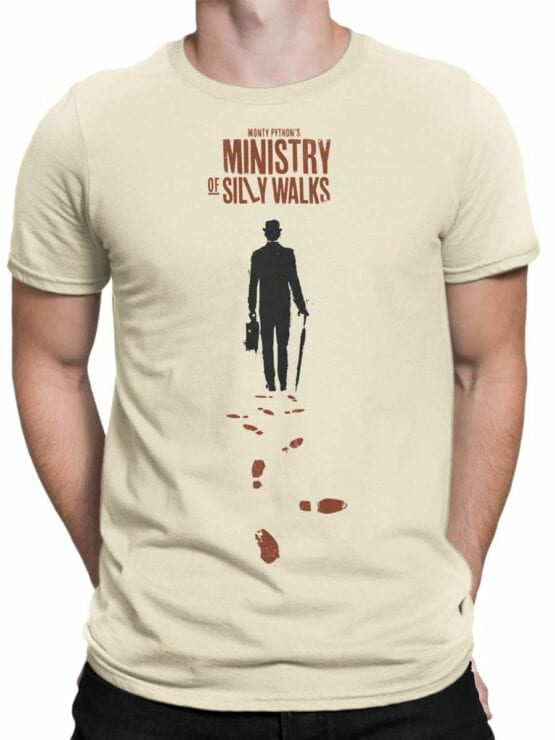 1732 Ministry Of Silly Walks Monty Python T Shirt Front Man