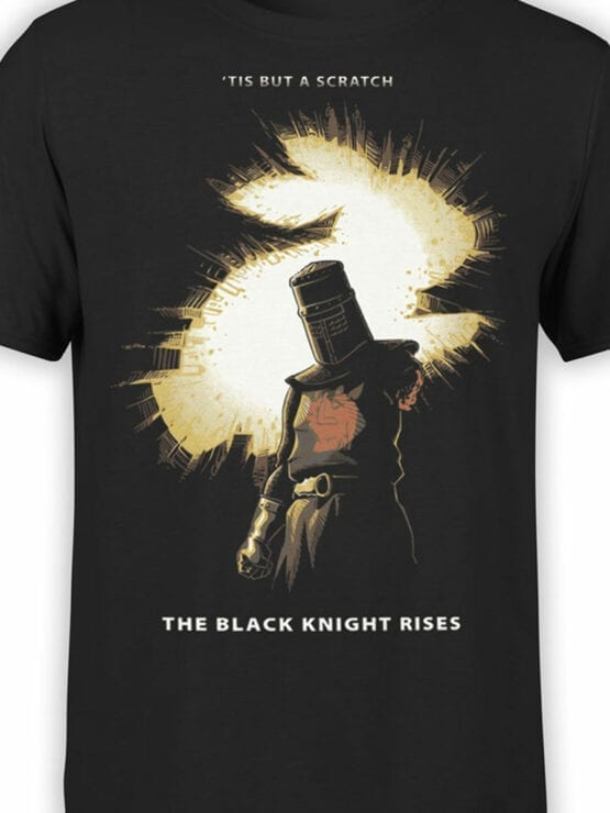 1733 But a Scratch T Shirt Monty Python T Shirt Front Color