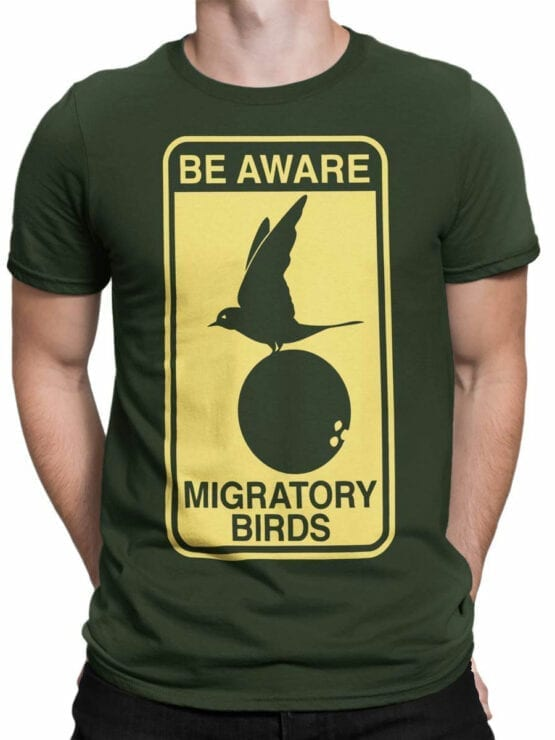 1734 Be Aware T Shirt Monty Python T Shirt Front Man