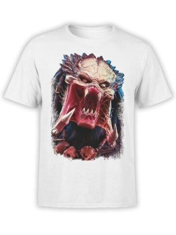 1737 Predator Alien T Shirt Front