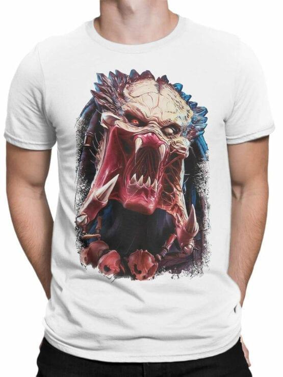 1737 Predator Alien T Shirt Front Man