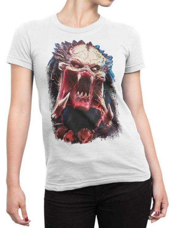 1737 Predator Alien T Shirt Front Woman