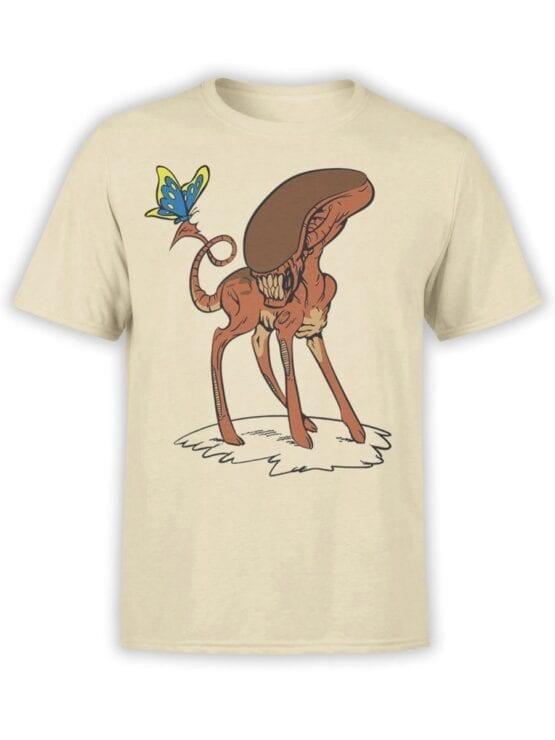 1738 Bambi Alien T Shirt Front