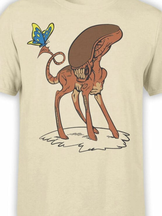 1738 Bambi Alien T Shirt Front Color