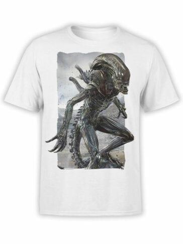 1741 Storm Alien T Shirt Front
