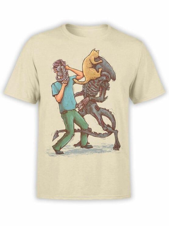 1745 Weapons Alien T Shirt Front