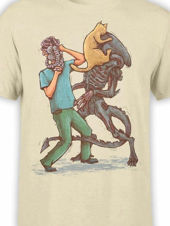 1745 Weapons Alien T Shirt Front Color