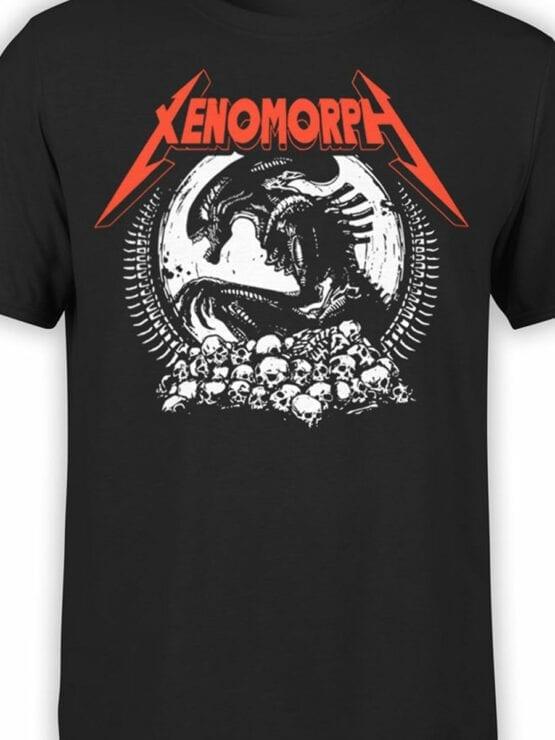 1746 Xenomorph T Shirt Alien T Shirt copy Front Color