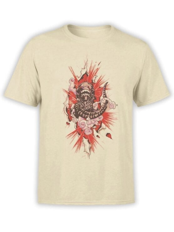 1747 Born T Shirt Alien T Shirt Front