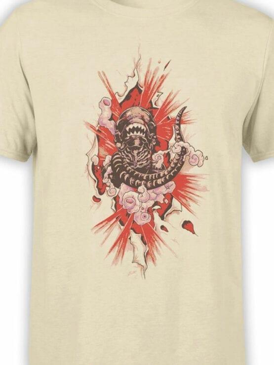 1747 Born T Shirt Alien T Shirt Front Color