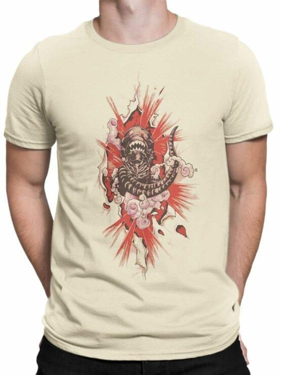1747 Born T Shirt Alien T Shirt Front Man