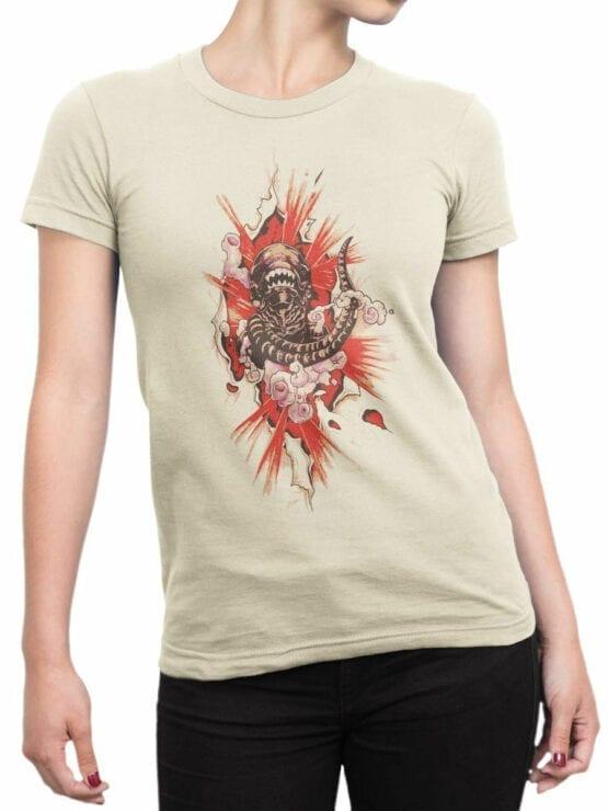 1747 Born T Shirt Alien T Shirt Front Woman