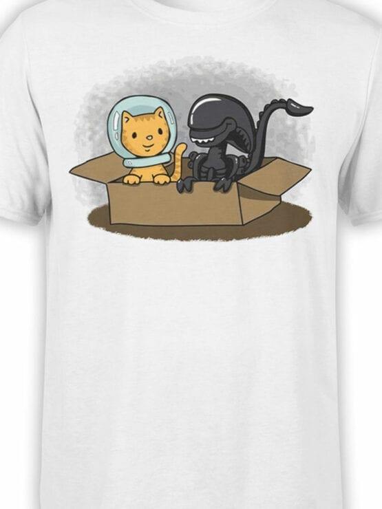 1750 Friends T Shirt Alien T Shirt Front Color
