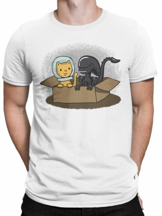1750 Friends T Shirt Alien T Shirt Front Man