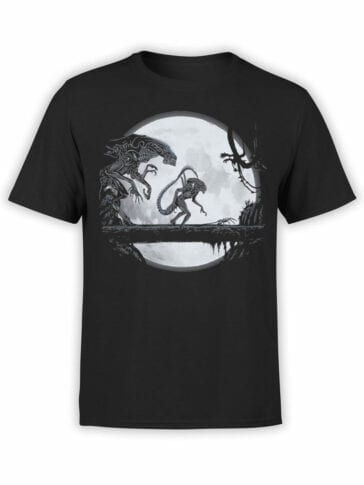 1751 Night T Shirt Alien T Shirt Front