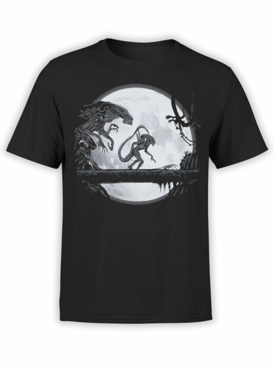 1751 Night T Shirt Alien T Shirt Front