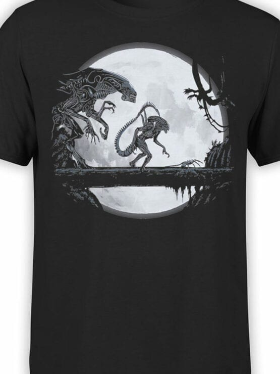 1751 Night T Shirt Alien T Shirt Front Color