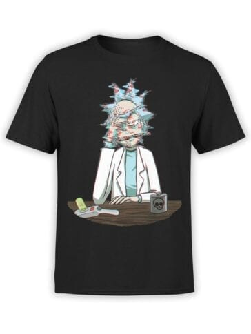 1762 Errors Rick and Morty T Shirt Front