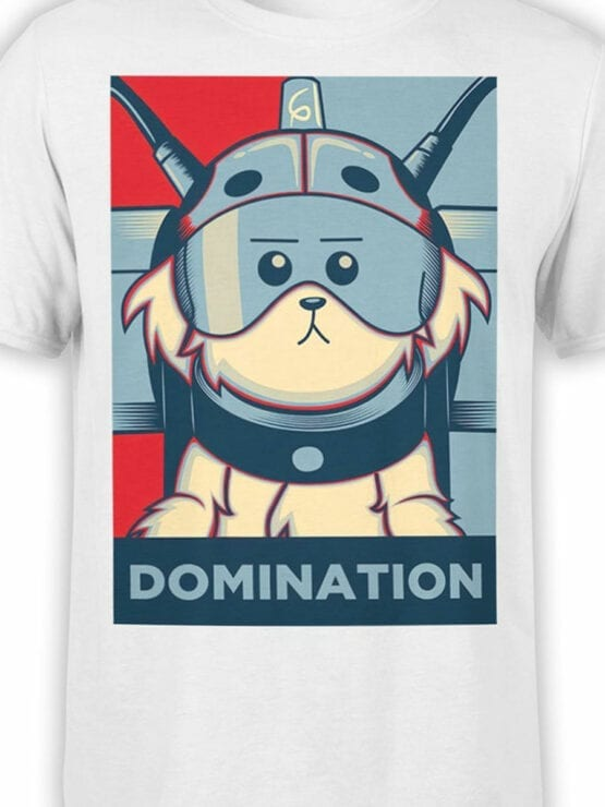 1784 Domination Rick and Morty T Shirt Front Color