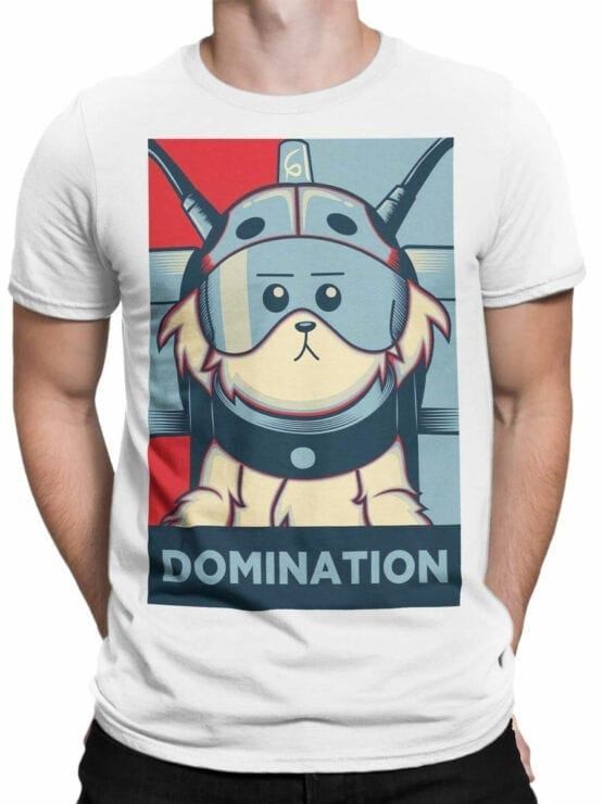 1784 Domination Rick and Morty T Shirt Front Man