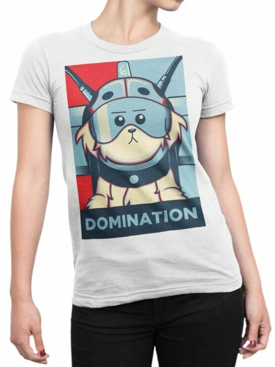 1784 Domination Rick and Morty T Shirt Front Woman