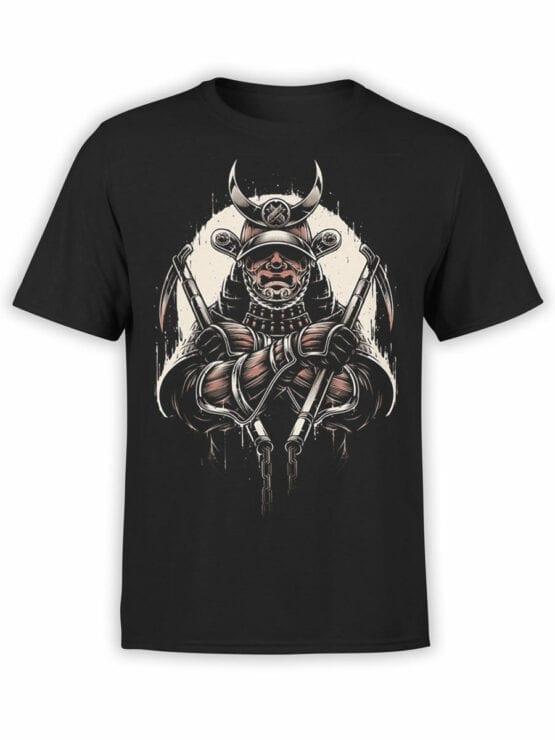 1787 Warrior Samurai T Shirt Front