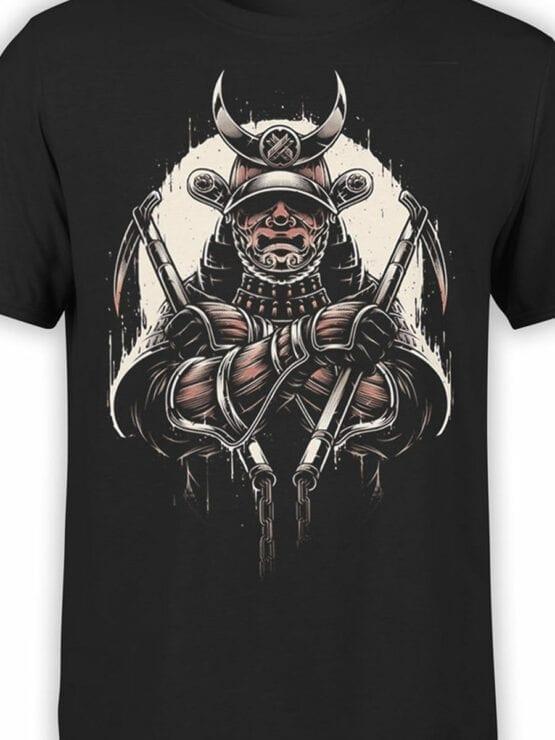 1787 Warrior Samurai T Shirt Front Color