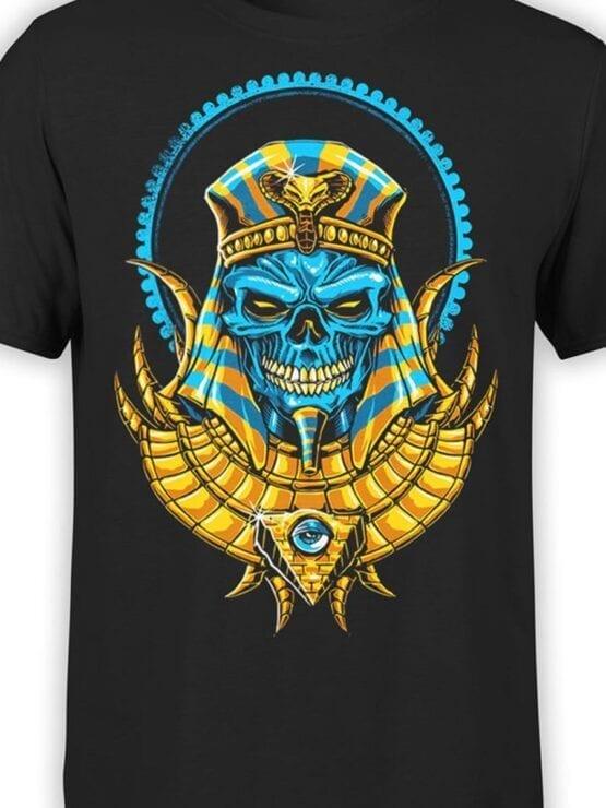 1788 Warrior Dead Pharaoh T Shirt Front Color