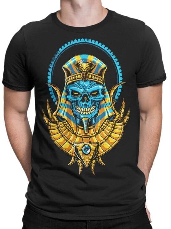 1788 Warrior Dead Pharaoh T Shirt Front Man