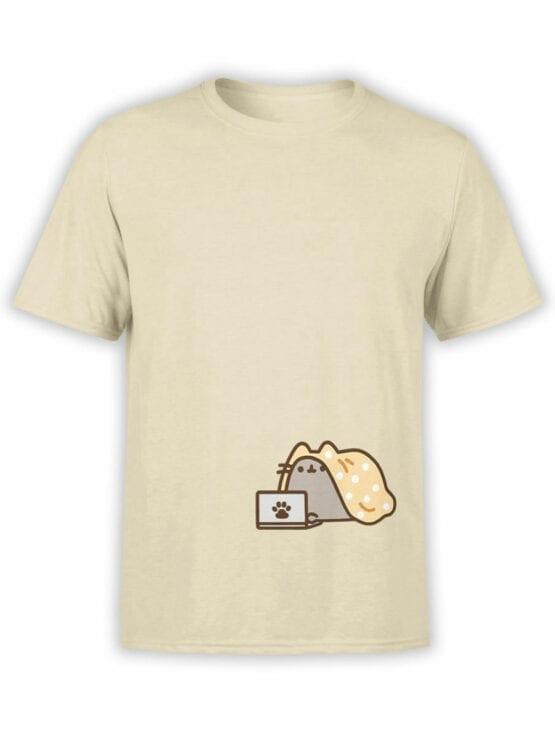 1791 My Comfort Cute Cat T Shirt Front