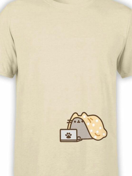 1791 My Comfort Cute Cat T Shirt Front Color