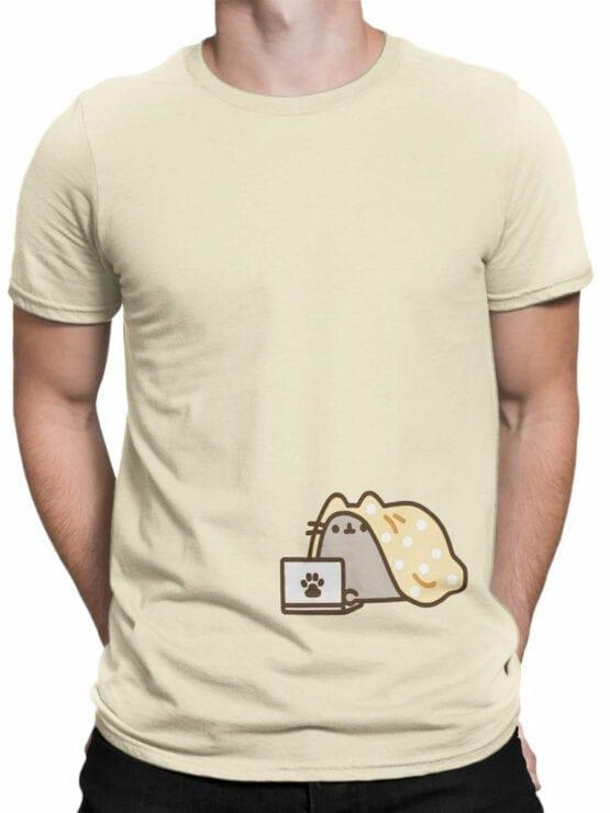 1791 My Comfort Cute Cat T Shirt Front Man