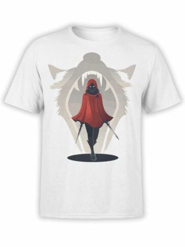 1793 Assassin Red Riding Hood T Shirt Front