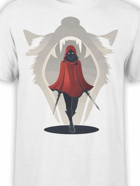 1793 Assassin Red Riding Hood T Shirt Front Color