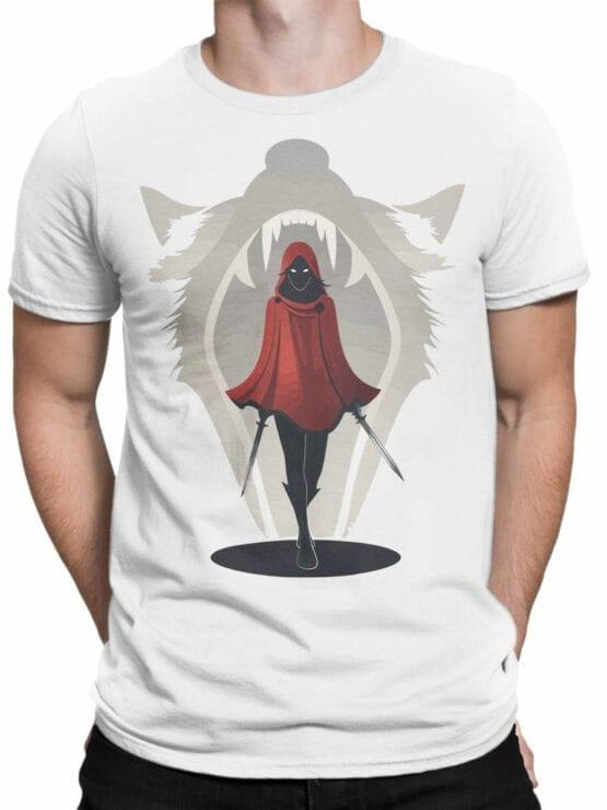 1793 Assassin Red Riding Hood T Shirt Front Man