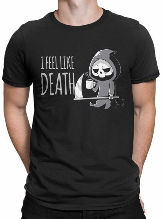 1797 I Feel Like Death T Shirt Front Man