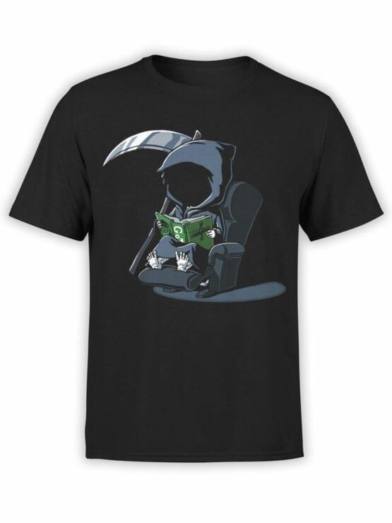 1803 Cute Death T Shirt Front