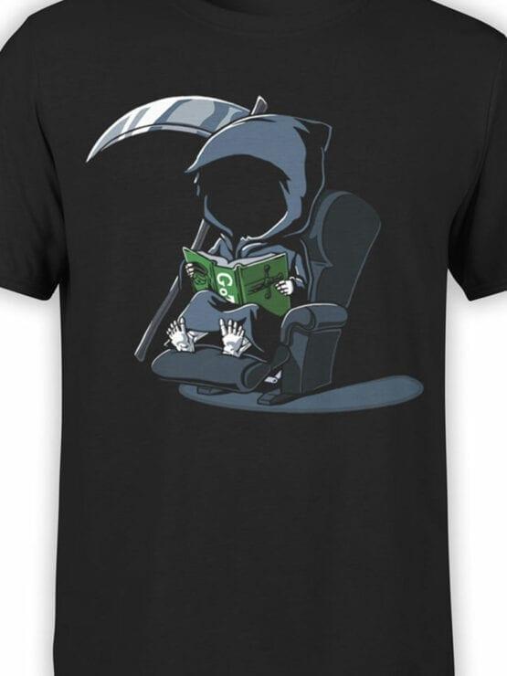 1803 Cute Death T Shirt Front Color