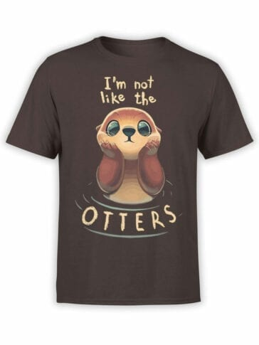 1806 Like the Otters T Shirt Front